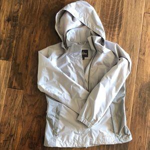Two tone Eddie Bauer rain coat
